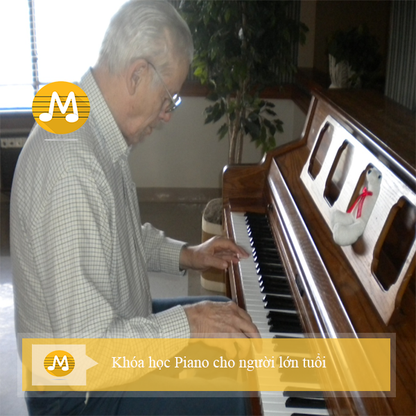 Giới thiệu lớp học đàn piano cho người lớn tại TPHCM