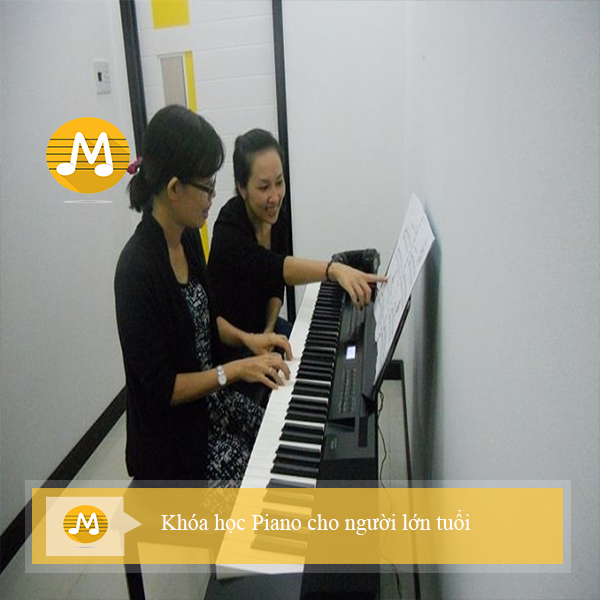 Khóa học Piano dành cho người lớn tuổi