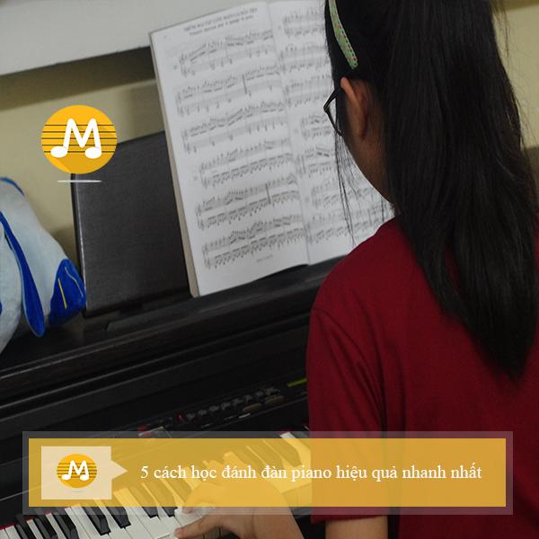 5 cách học đánh đàn piano hiệu quả nhanh nhất