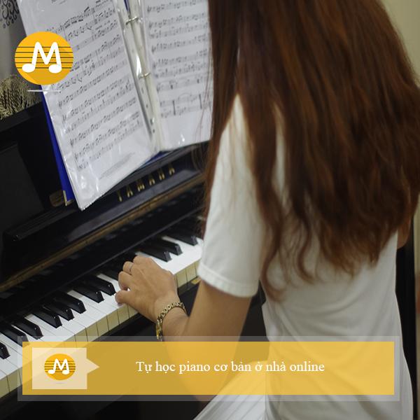 Tự học piano cơ bản ở nhà online