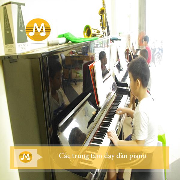 Các trung tâm dạy đàn pian
