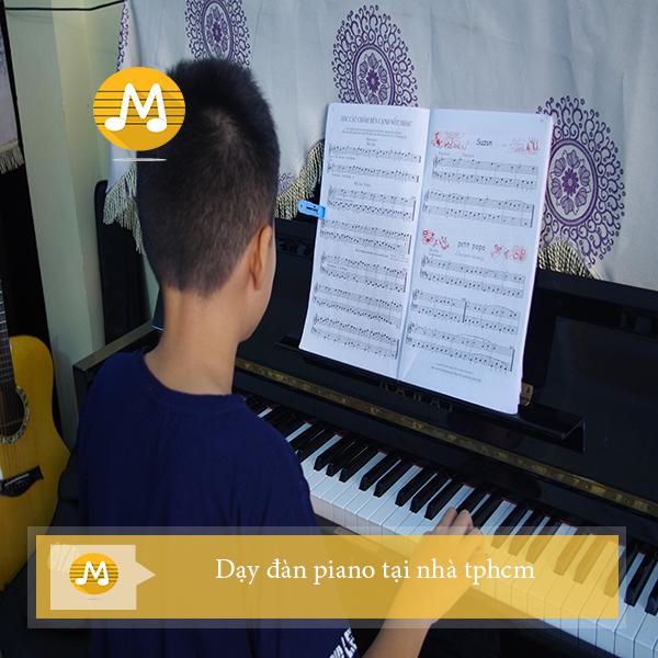 Dạy đàn piano tại nhà tphcm