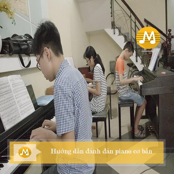 Hướng dẫn đánh đàn piano cơ bản
