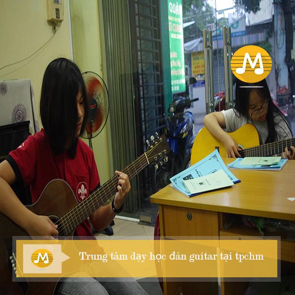 Trung tâm dạy học đàn guitar tại TPHCM