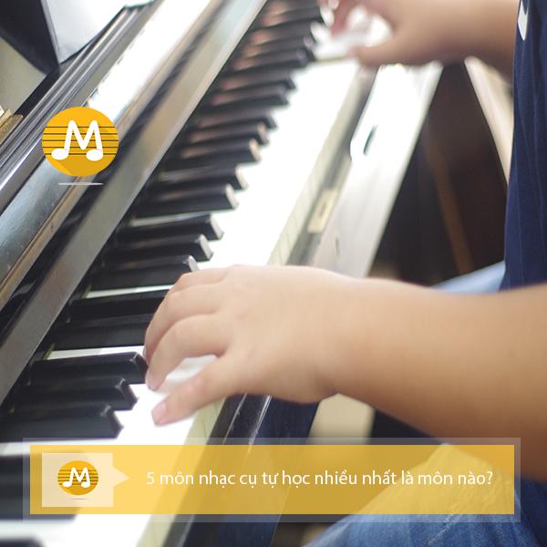 4 môn âm nhạc cụ tự học nhiều nhất là môn nào?
