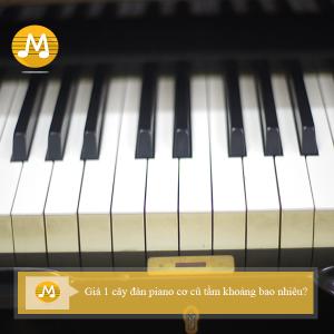 Giá 1 cây đàn piano cơ cũ tầm khoảng bao nhiêu