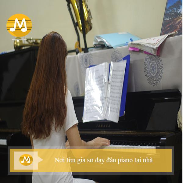 Nơi tìm gia sư dạy đàn piano tại nhà