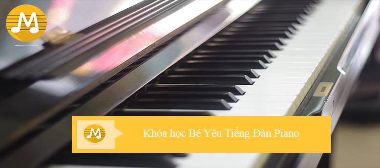 Khóa học Bé Yêu Tiếng Đàn Piano